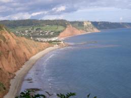 Sidmouth from Peek Hill